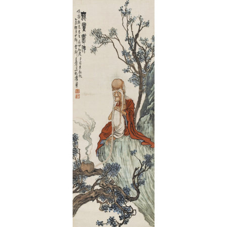 王鶴(民國) 無量壽佛