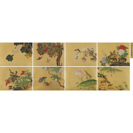 愛新覺羅 · 弘旿(1743-1811) 花鳥冊