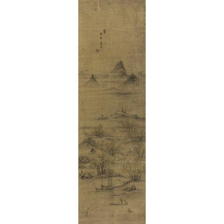 李漢喆(1812-1893以後) 漁村落照