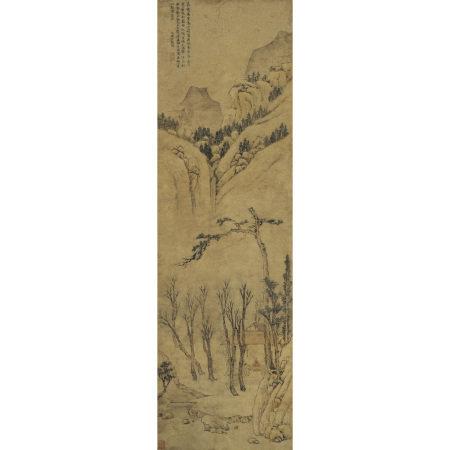 文徵明(1470-1559) 春酣小景