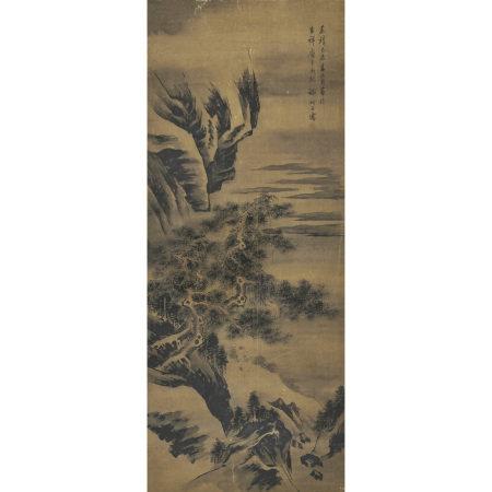 謝時臣(1487-1567) 觀松圖