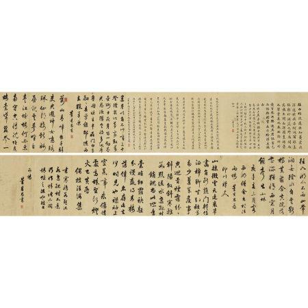 董其昌(1555-1636) 臨前賢書法卷