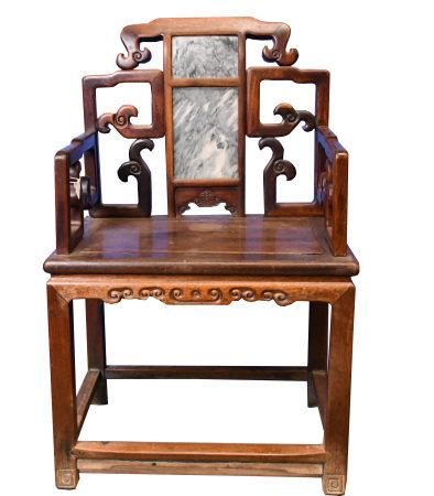 A Suanzhi Grand Master Chair,19th C.