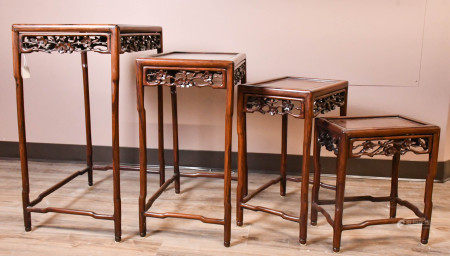 A Group of Suanzhi Nested Tables, 19th C.