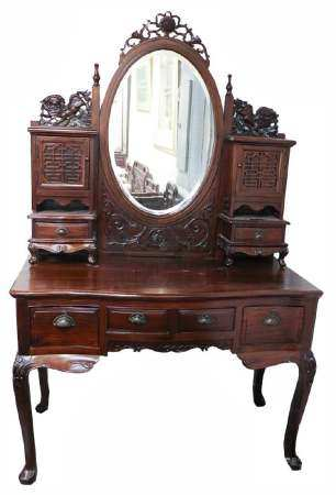 Suanzhi Wood Dressing Table, Late Qing