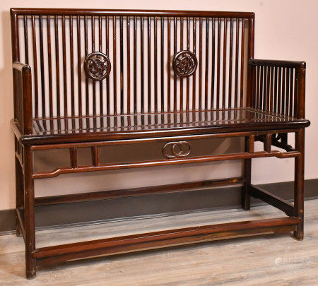 A Suanzhi Wood Bench, Republic P