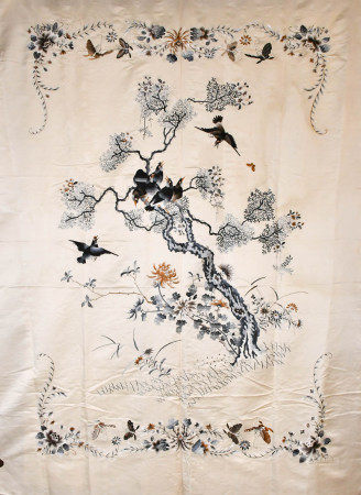 A Large Embroidery Hanging Piece