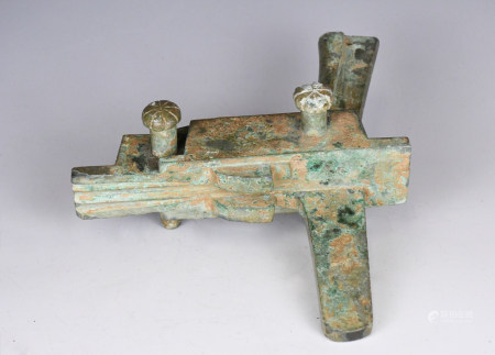 Ancient Chinese Bronze Crossbow Mechanism