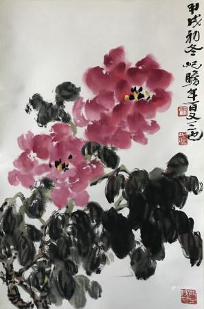 朱屺瞻 花卉