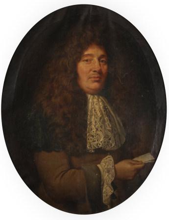 École FRANÇAISE vers 1680,   - entourage de Charles Le BRUN  - Portrait présumé [...]