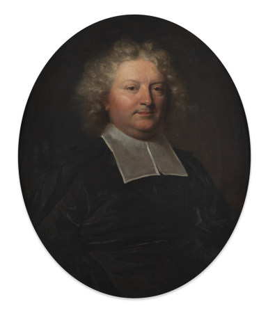 École FRANÇAISE vers 1700,  - entourage de Hyacinthe RIGAUD  - Portrait d'un [...]