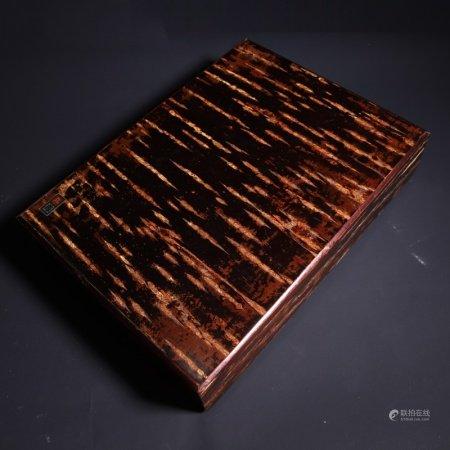 民国 瘿木盒
