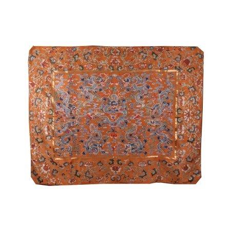 清 九龙纹挂毯