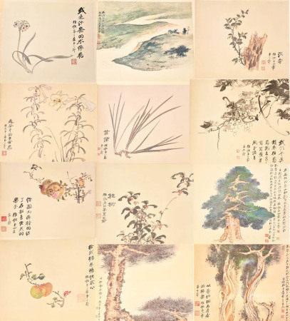 Zhang Da Qian Album Prints