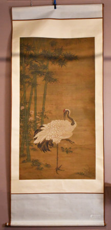 After Wang Yuan(1271-1368) Flower and Bird