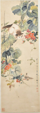 Yan Bo Long (1898-1955) Flowers and Birds