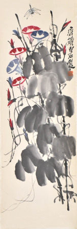 After Qi Bai Shi (1864-1957)Morning Glory