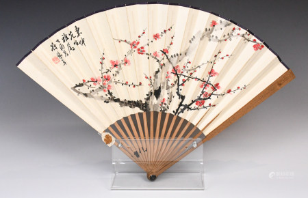 Wu Hua Yuan (1893-1973) Folding Fan