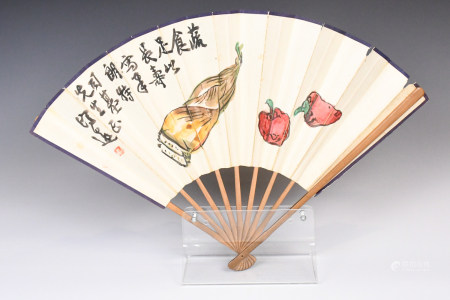 Wang Ji Yuan (1893-1975) Folding Fan