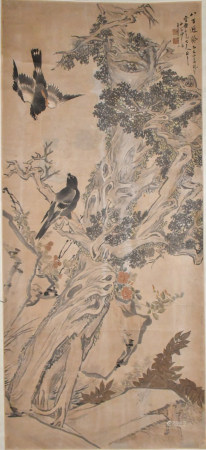 Sha Fu (1831-1906)Flowers and Birds