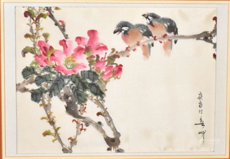 Hunag Huan Wu (1906-1985) Flowers and Birds