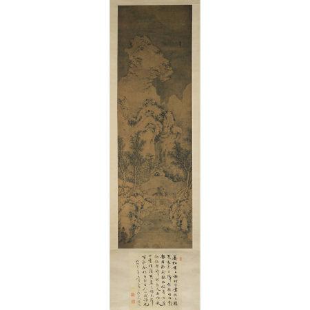 謝時臣 (1487-?) 雪景山水圖