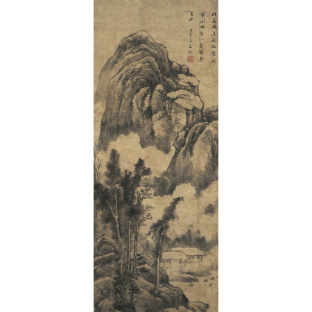 董其昌 (1555-1636) 墨筆山水