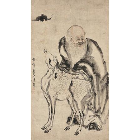 黃慎 (1687-1772) 福祿歡喜