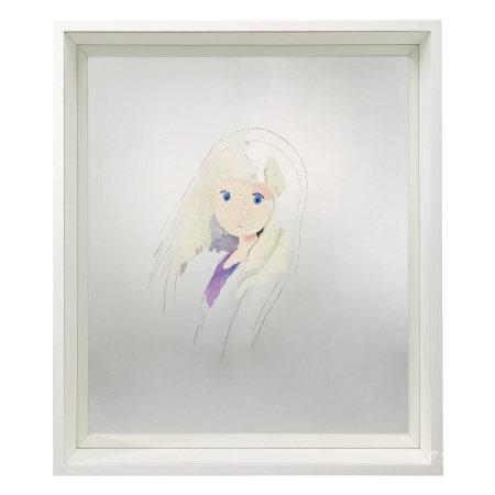 Makoto Taniguchi 谷口真人 Young Girl 少女鏡像畫