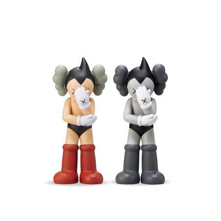 Kaws Astro Boy  阿童木(灰色、紅色版)