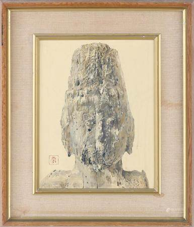Buddha, oil on canvas, 1968. FR3SH.
