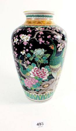 A modern Chinese pottery vase, 25cm