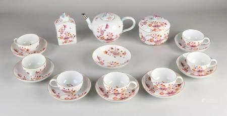 10-PIECE GERMAN MARCOLINI MEISSEN TEA SERVICE, 1800