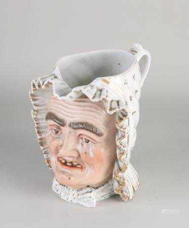 FRENCH PORCELAIN PITCHER