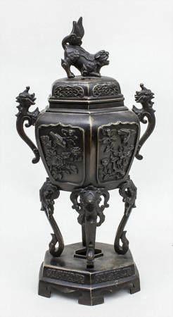 Koro-Gefäß, Meiji-Periode, Japan