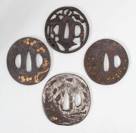 Sammlung 4 Tsubas / A collection of 4 Tsubas, Japan