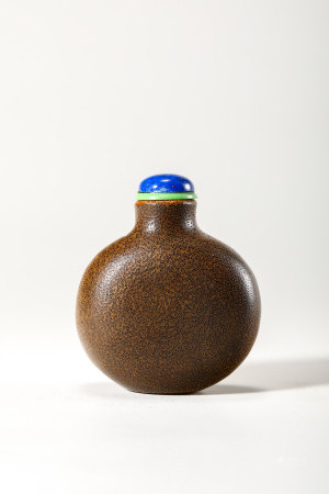 Chinese Bamboo Root Snuff Bottle