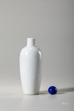 Chinese White Glazed Anhua Snuff Bottle