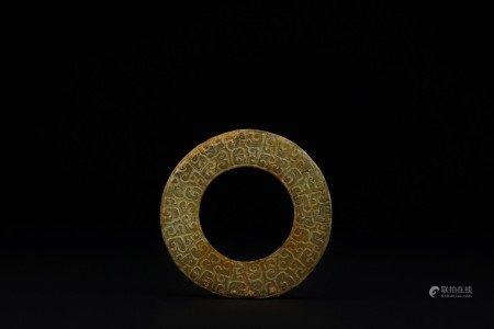 春秋 玉龍紋環
