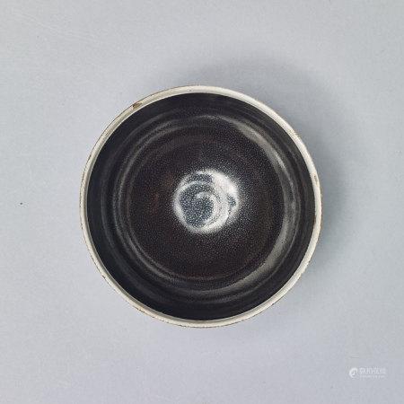 白覆輪油滴碗
