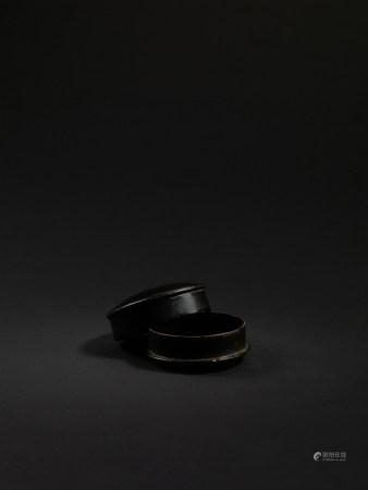 宋-元 黑漆香盒