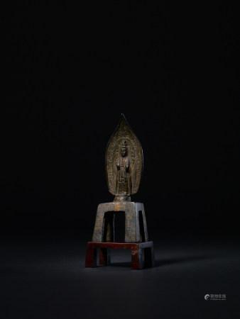 東魏·武定四年 銅鎏金菩薩立像
