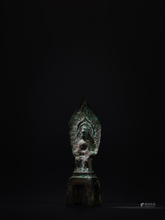 北魏 銅鎏金釋迦牟尼佛像
