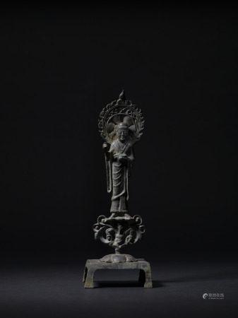 隋 銅立佛像