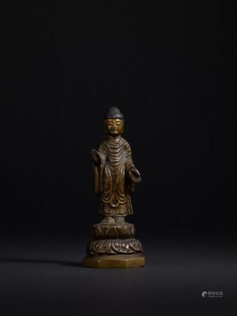 統一新羅 銅釋迦牟尼像