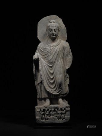魏晉南北朝 石雕佛立像