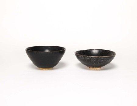 宋代-吉州窯小盞兩件