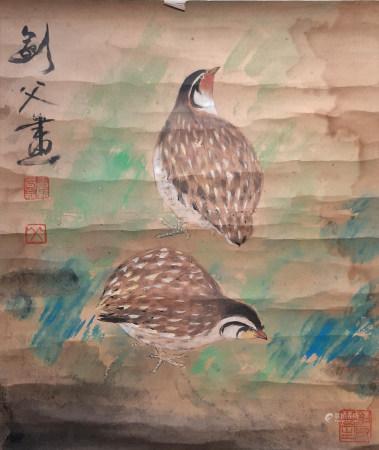 高劍父 雀鳥