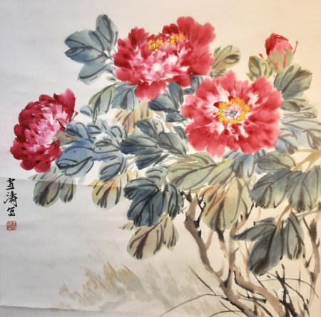 王雪濤 花卉