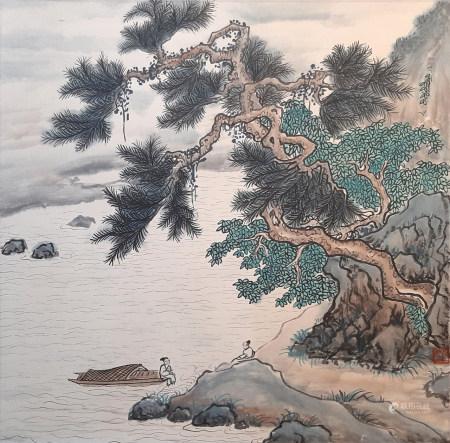 李硯山 山水